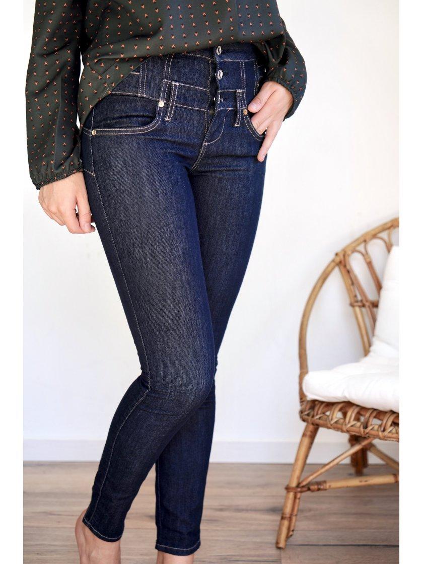 Jeans brut taille haute Liu Jo femme