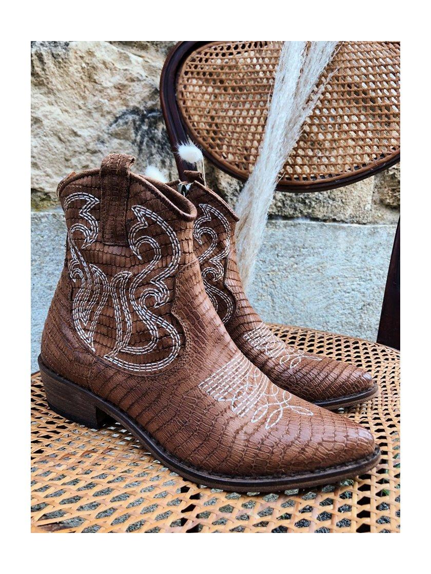 Boots Santiag Semmerdjain-Mimmu femme