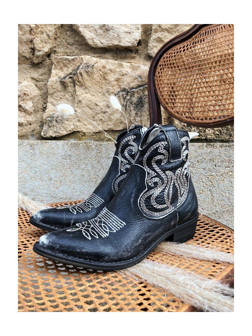 Boots santiag Semerdjian-Mimmu femme