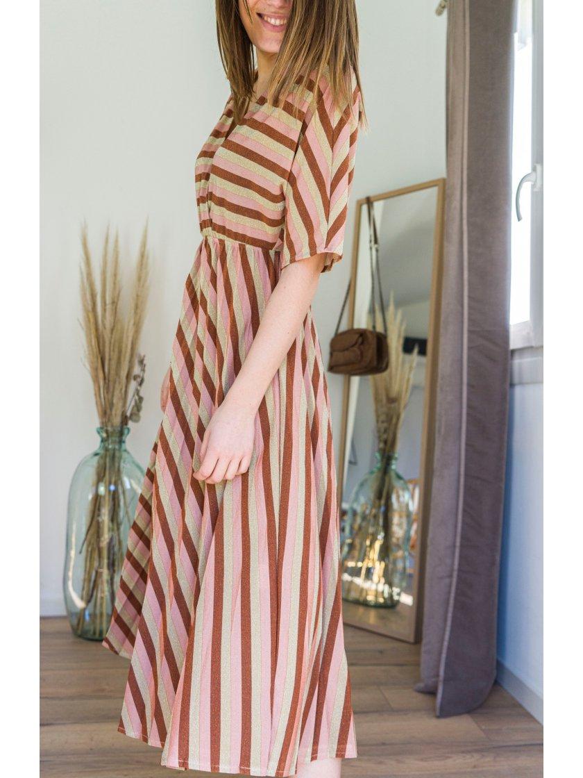 Robe Anthemis Terra Lauren Vidal Femme