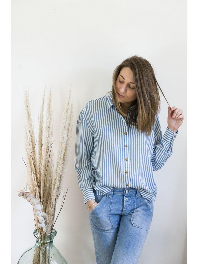 Chemise Suka à rayures Vila Femme