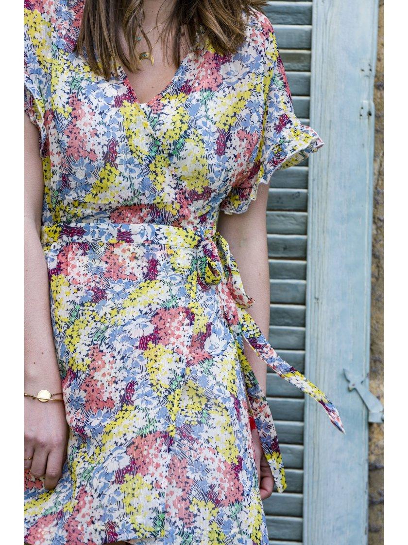 Robe Candy imprimé floral Suncoo Paris Femme