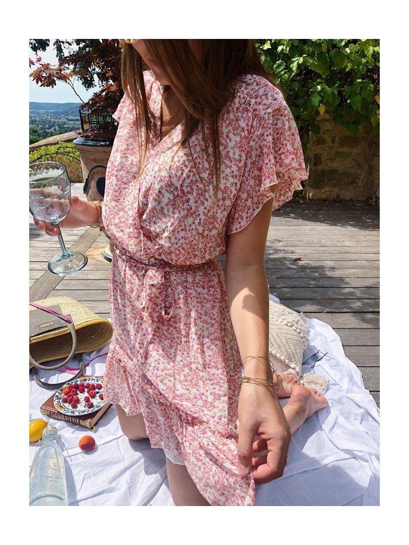 Robe lola Rose Fleurie Femme