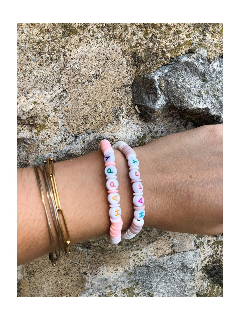 Bracelet Surfeur Happy Rose