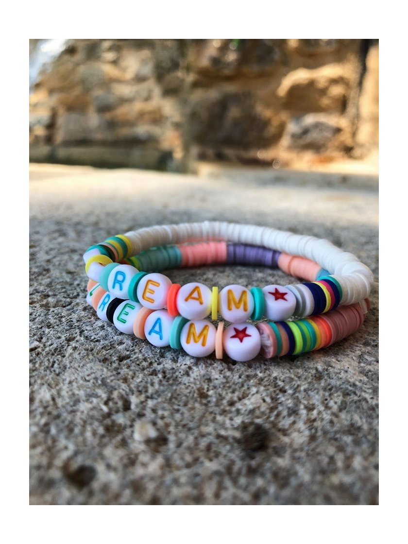 Bracelet Surfeur Dream Blanc
