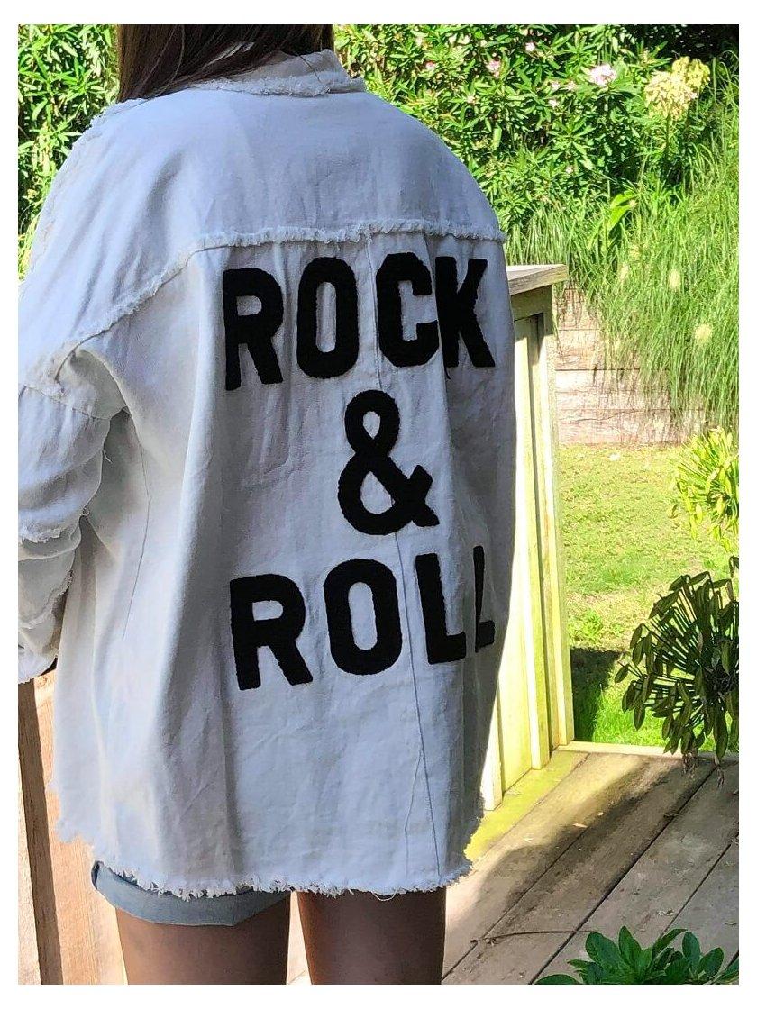 Veste Ecru Rock & Roll Jubylee Femme