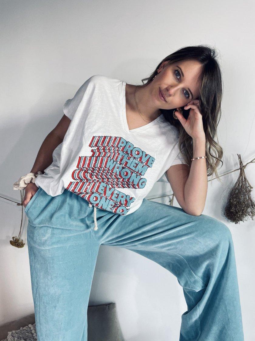 Tee-shirt Beny Écru Banditas Femme