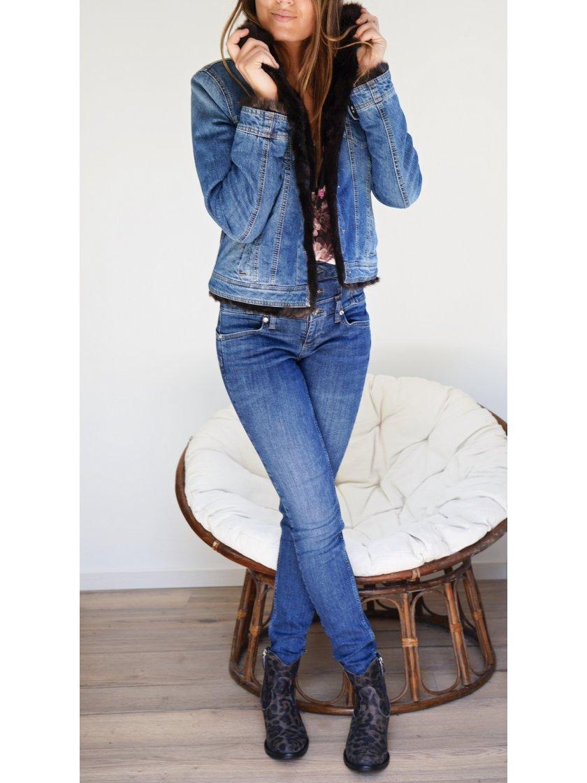 Jeans taille haute Liu Jo femme