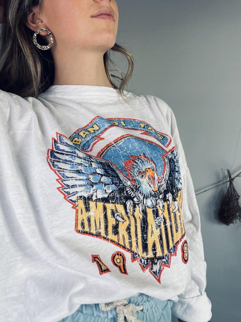 Tee-shirt Rocky Blanc Banditas Femme