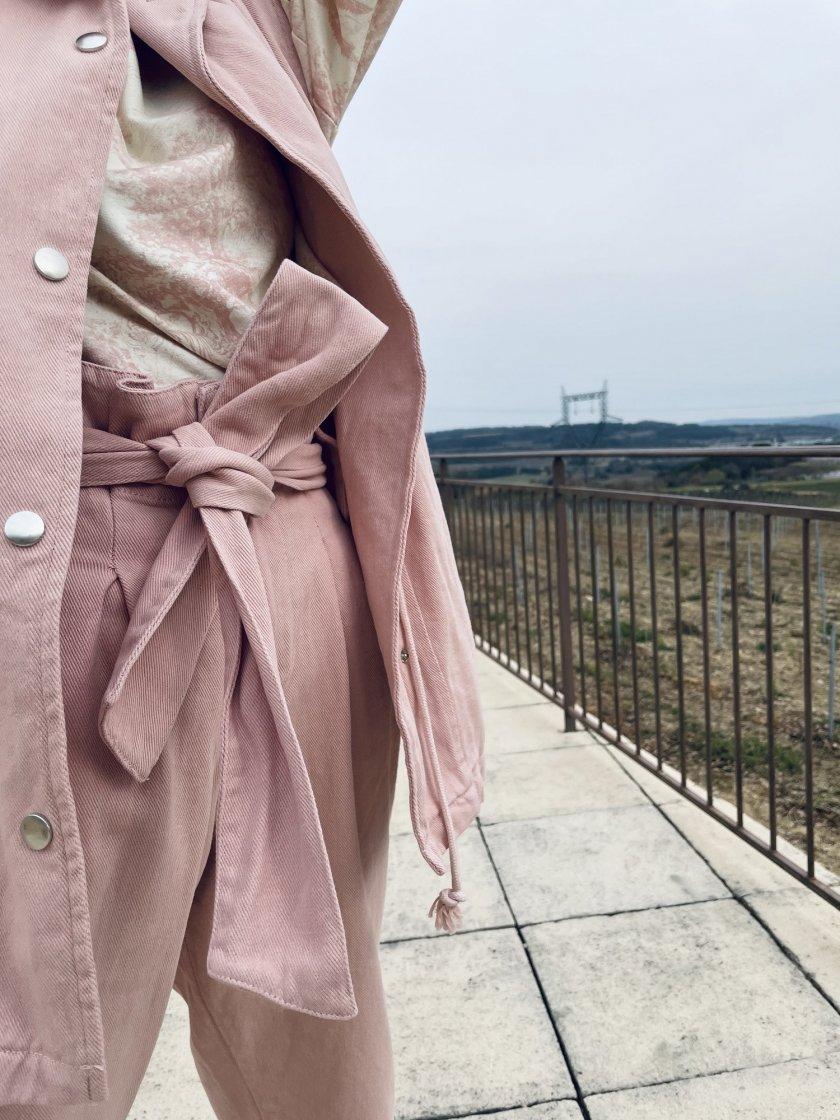 Pantalon Paperbag Louisa Rose Femme