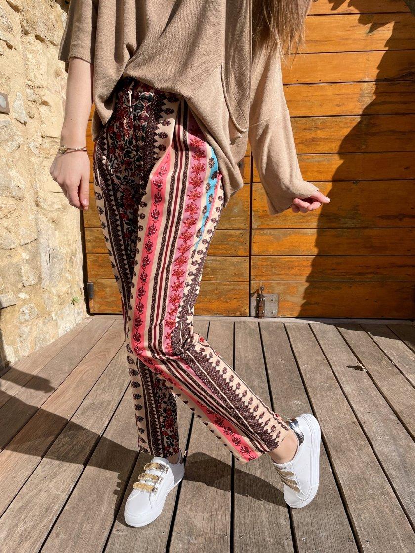 Pantalon Imprimé Dixie