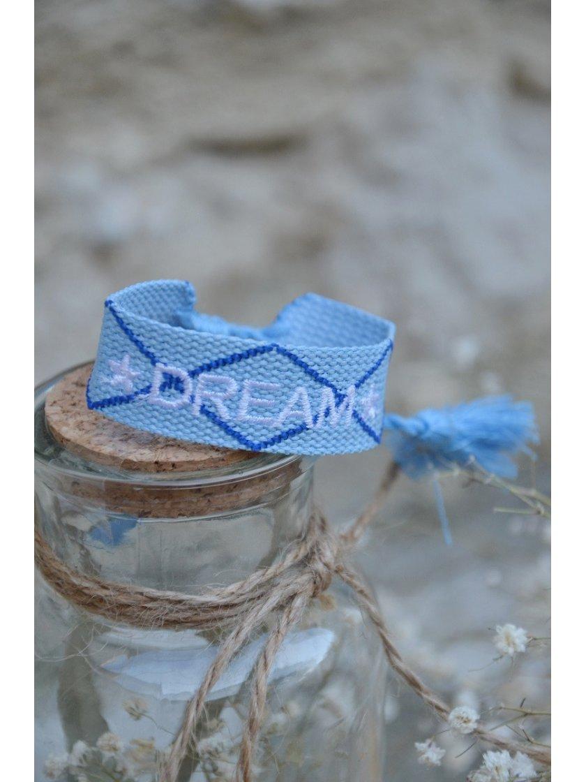 Bracelet Tissé Dream Bleu