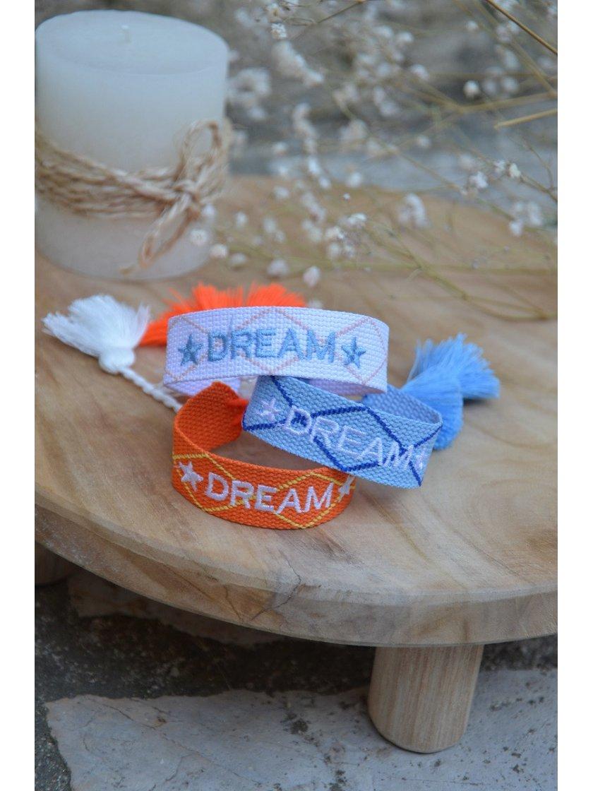 Bracelet Tissé Dream Rose
