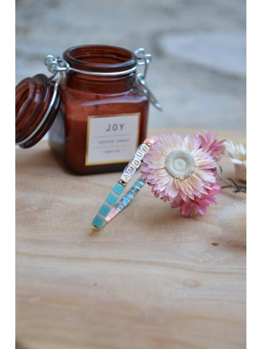 Bracelet Nala Perles Japonaises Pastel Amour