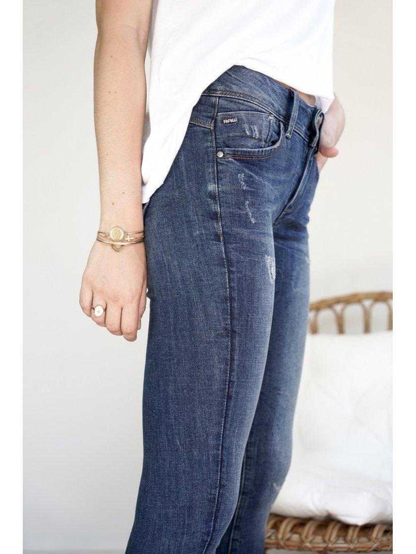 Jeans lynn mid super skinny G-Star femme